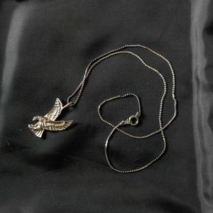 Silver Eagle Necklace
